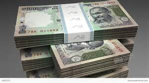 stack of indian rupee stock animation 5461513