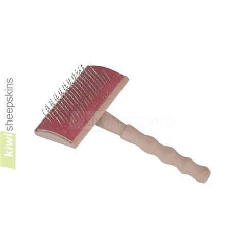 sheepskin rug brush bowron care brush for maintenance and after washing