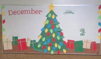 Christmas Gifts Decorations 12 Months Of Bulletin Board Ideas The Happy Scraps