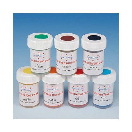 food coloring at walmart yellow powdered food coloring 3 grams by americolor