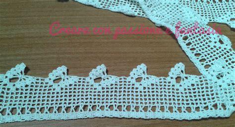 bordi per tende schemi bordure uncinetto per tende idea di casa