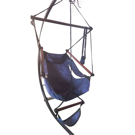 sky swing chair deluxe air hammock hanging patio tree sky swing chair