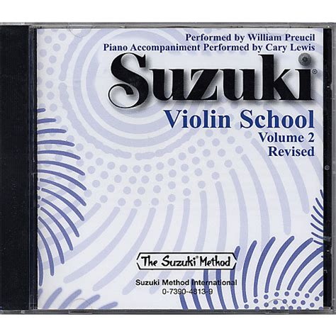 Suzuki Volume 2 Violin Alfred Suzuki Violin School Cd Volume 2 Guitar Center