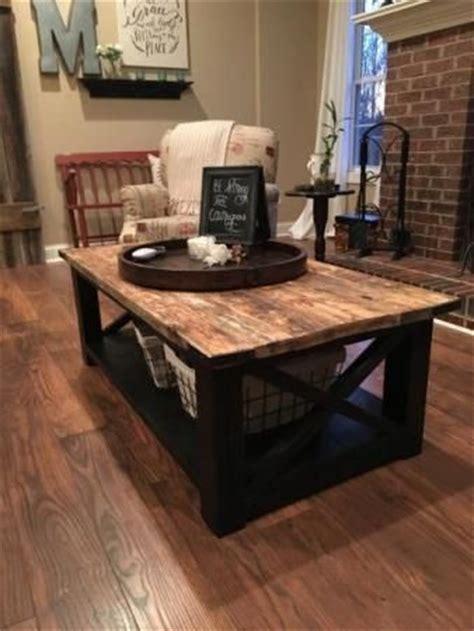 rustic coffee table  plans living room tutorials