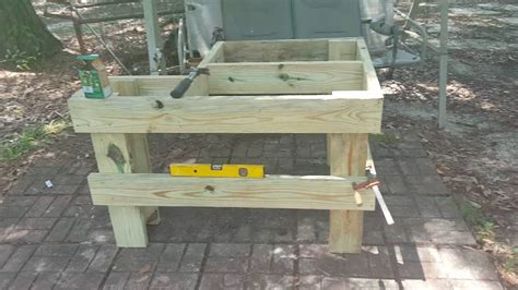 how to build a shooting bench out of wood how to build an easy shooting bench youtube