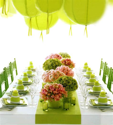 green table decorations 50 table setting ideas to your guests loombrand
