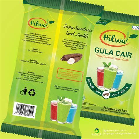 desain kemasan gula galeri desain kemasan untuk produk gula cair quot hilwa quot
