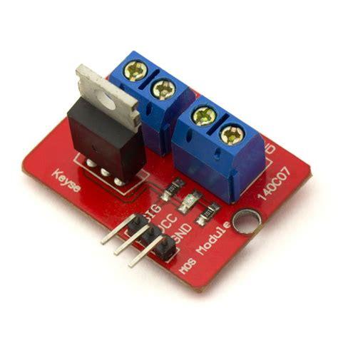 arduino tutorial mosfet module mosfet 0 24v irf520 arduino compatible hta3d