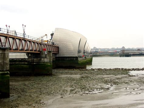 thames barrier length panoramio photo of the thames barrier