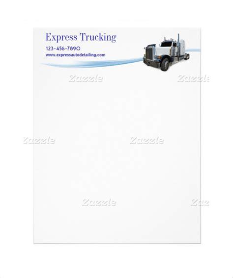 trucking company letterhead templates 15 company letterhead templates free sle exle
