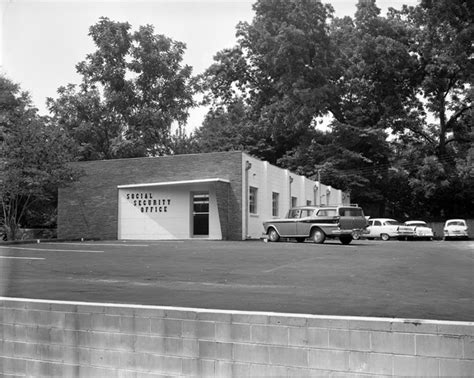 Tallahassee Social Security Office by Florida Memory Social Security Office Building In