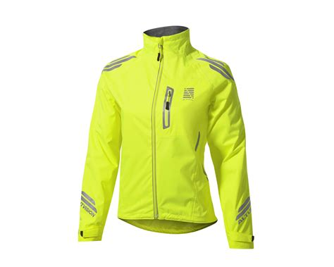 cycling outerwear altura womens night vision waterproof cycling jacket