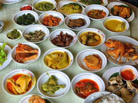 jakarta cuisine nasi padang at garuda restaurant in jakarta indonesia