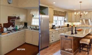 Cheap Kitchen Remodel Ideas Before And After by Reface Or Replace Kitchen Cabinets Pros Amp Cons