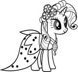 rarity coloring pages free coloring pages of rarity equestria