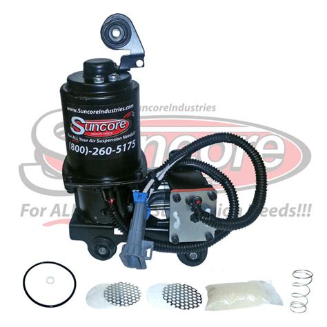 2005 2010 cadillac sts air ride suspension compressor with dryer rebuild kit ebay