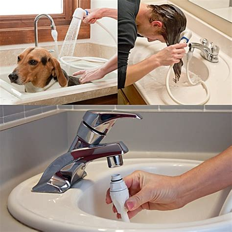 bathtub dog sprayer dog sprayer for bathtub k9 shower portable dog shower