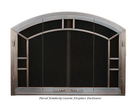 David Fireplace Doors by Northwest Metal Crafts Arlington Heights