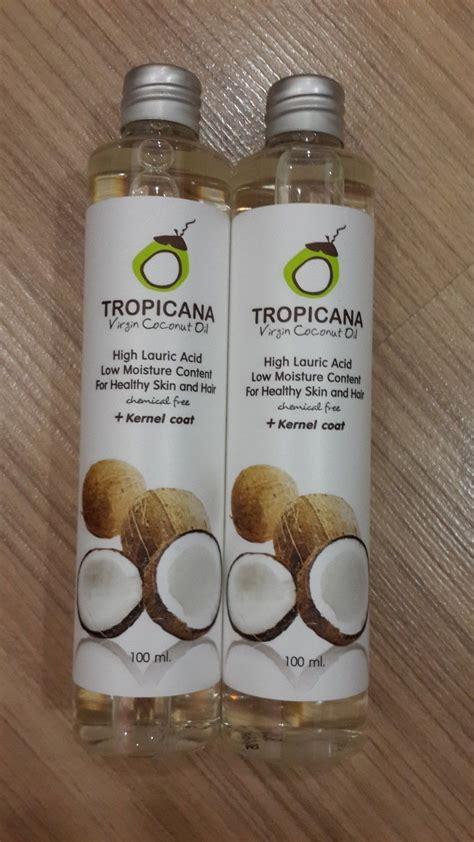 tropicana organic pure cold pressed coconut oil healthy