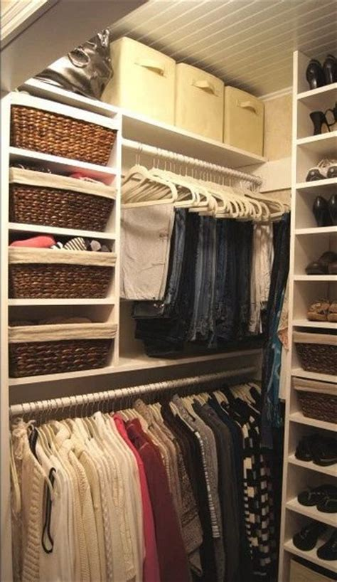 Small Organized Closet by 1000 Ideas About Closet Redo On Master Closet