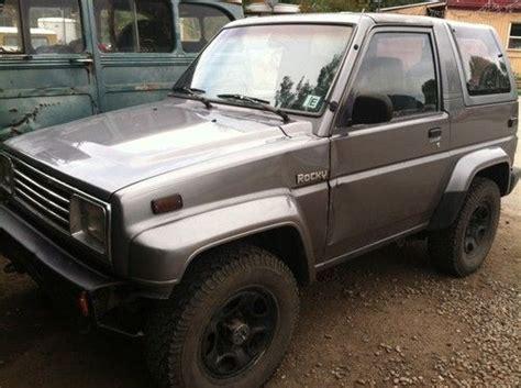 Suzuki Rocky Find Used 4x4 Daihatsu Rocky 131k No Reserve