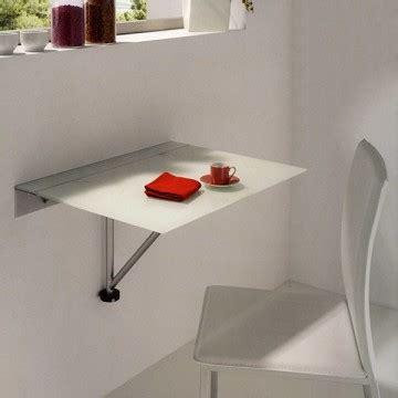 mesa de cocina abatible  tapa de cristal