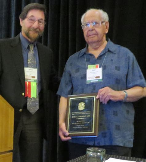 aua western section dr emil tanagho receives award recognition at his 51st