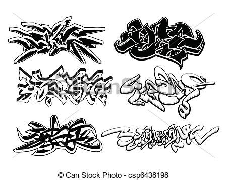 graffiti vector design elements 25x eps vector van graffiti communie set set 6 graffiti