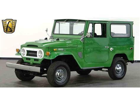 Cars Similar To Fj Cruiser by 1970 Toyota Land Cruiser Fj For Sale Classiccars