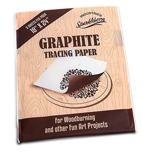 How To Make Graphite Transfer Paper - transfer graphite paper for wood tracing onto wood burning
