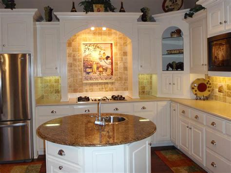 center kitchen island designs page title