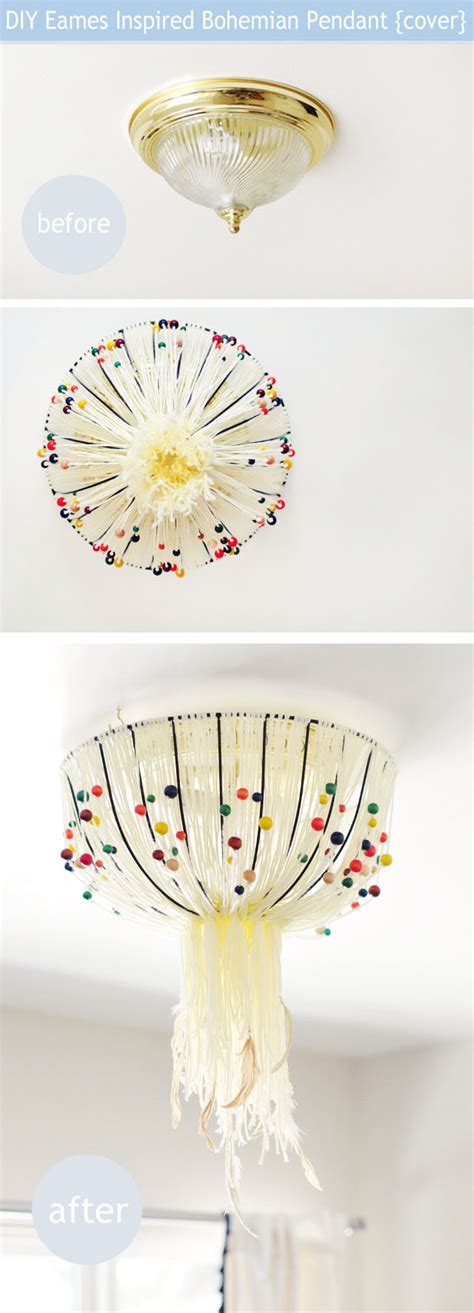 Diy Ceiling Light Cover Diy Light Fixture Covers Quotes