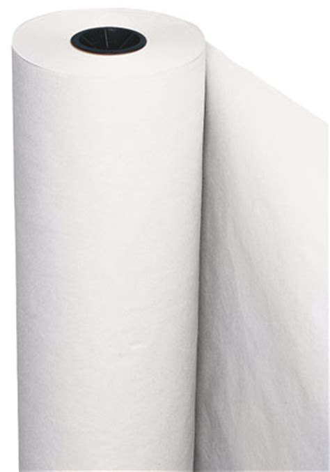 Roll Of White Craft Paper - pacon white utility paper roll blick materials