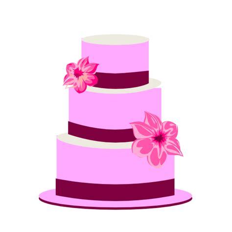 Wedding Cake Clip by Purple Wedding Cake Clip Clipart Panda Free