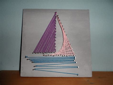 String Sailboat - string boat 183 string 183 construction and