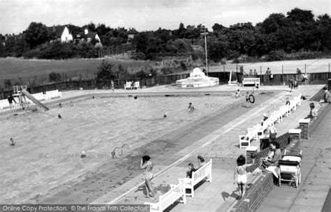 Garden City Swimming Pool Historical Nostalgic Pictures Of Letchworth Garden