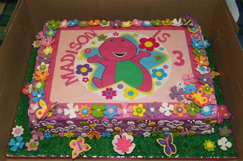 printable edible images for cakes girly barney edible print cake juvante cake creations