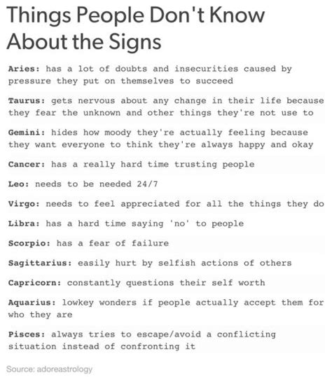 8 Things I Dont Get About The by Aquarius