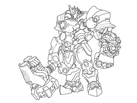 D Va Coloring Page by Genji Hanzo D Va Tracer Reaper And Other Overwatch