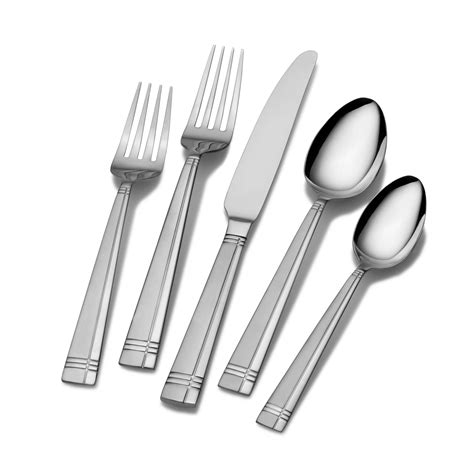 flatware sets amazon com international silver checkered frost