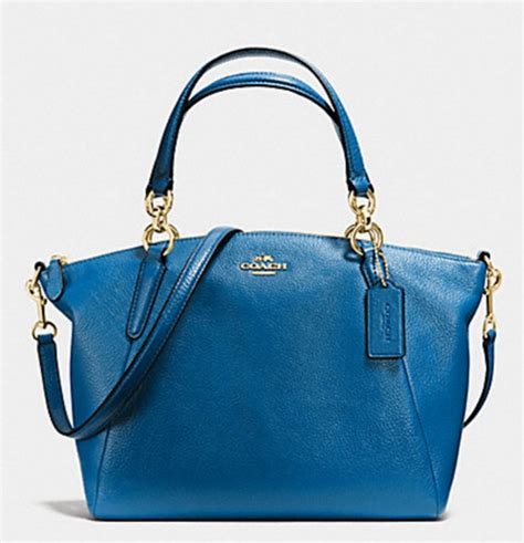 Promo Tas Branded Coach Small Kelsey Gold Tas Coach Original Nwt Ns luxurycometrue coach small kelsey satchel in pebble leather bright mineralf36675 rm 890