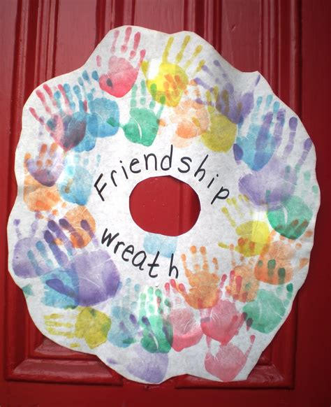 friendship craft for preschool playbook friendship day