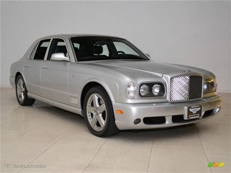 bentley arnage t mulliner silver 2004 bentley arnage t 24 mulliner exterior photo