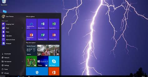 themes for windows 8 1 with sound lightning theme for windows 7 8 8 1 and 10 save themes