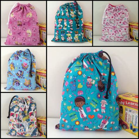 library bag pattern drawstring book bag library bag drawstring bag tote bag kids toy