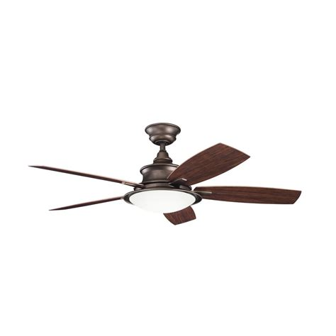 copper ceiling fan with light kichler ceiling fan with light kit in weathered copper
