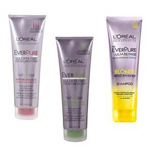 best shoo for color treated hair sulfate free rank style l oreal everpure shoo