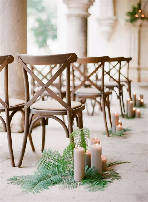 fern decor wedding trend ferns