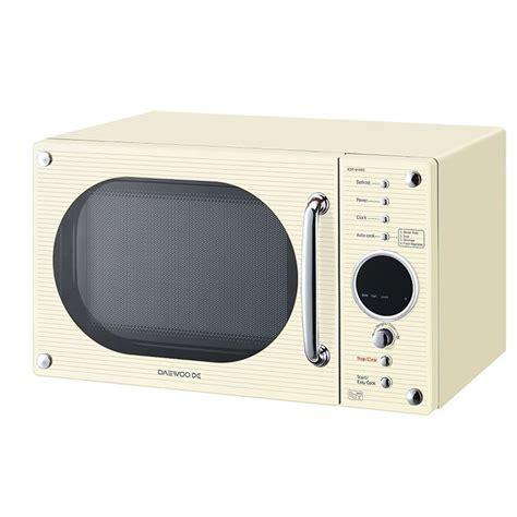 Toaster Kettle Set Daewoo Kor6n9rc Microwave Oven Freestanding Cream