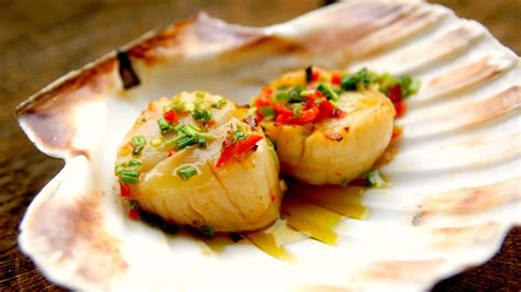 how to grill scallops scallops video recipe youtube